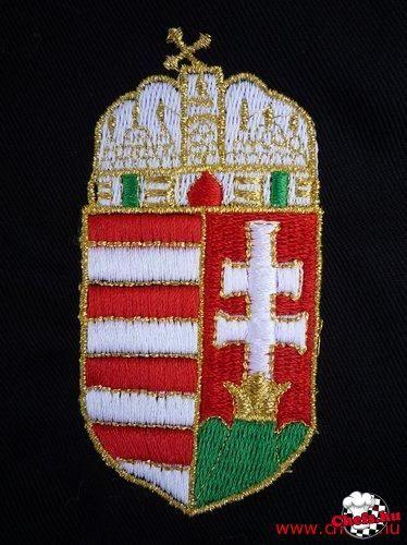 ab35f91b2a Magyar címer hímzése - Szakács munkaruha szaküzlet