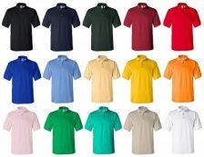 Pólók, Galléros pólók
