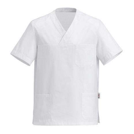 Szakács ing fehér 100% pamut