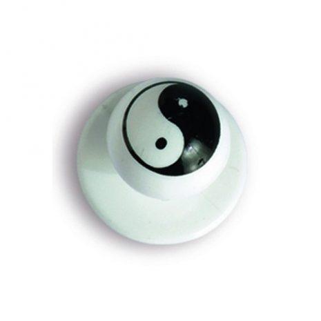 Szakácskabát gomb Ying-Yang-os 12 db
