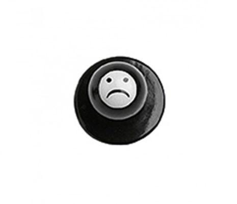 Szakácskabát gomb szomorú Smile 12 db