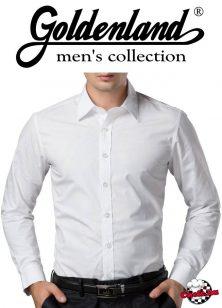 GOLDENLAND slim fit, karcsúsított, férfi felszolgáló ing