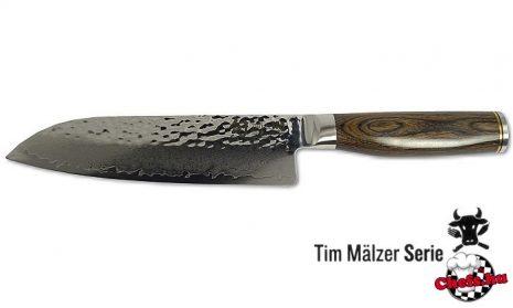 TIM MALZER japán Santoku kés - 18 cm
