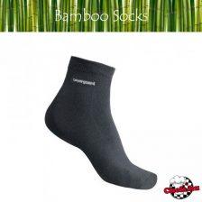 Antibakteriális Bambusz boka zokni
